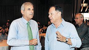 דני גילרמן ויוסי בכר, צילום: ראובן קסטרו