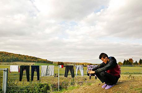 פליט בגרמניה. ב-2015 נכנסו ליבשת כמיליון פליטים
