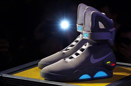 נעל נייקי חזרה לעתיד, צילום: רויטרס