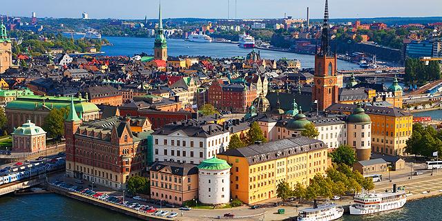 שטוקהולם, שבדיה. מחזיקי הדרכון השבדי יכולים להיכנס ל-176 מדינות ללא צורך בוויזה, צילום: שאטרסטוק