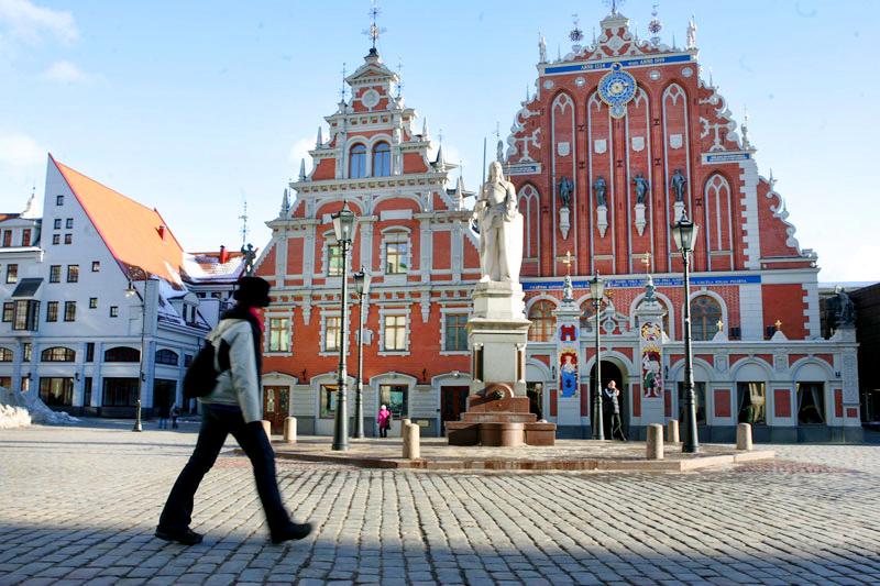 ריגה, בירת לטביה, צילום: בלומברג
