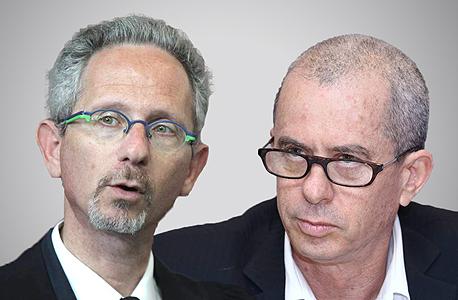 """מימין: עו""""ד גיורא ארדינסט ו עו""""ד ליאב וינבאום"""