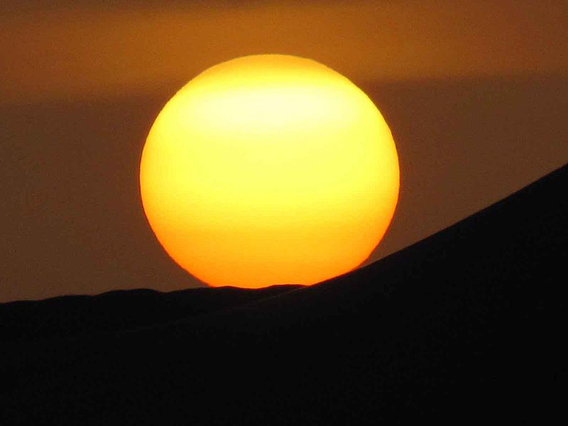 אירוע מרוקו מעל מדבר סהרה