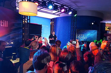 ces 2016 הכרזה של לנובו קוואלקום ו גוגל על פיתוח סמארטפון שישתמש בטכנולוגיית פרויקט טנגו של גוגל , צילום: הראל עילם