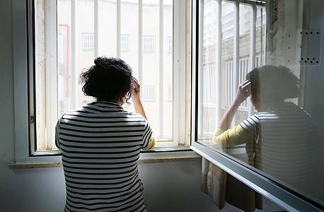 מקלט לנשים מוכות, צילום: אלכס קולומויסקי