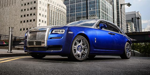 צרות של עשירים: רולס רויס מכרה 3,785 מכוניות בשנה החולפת - ירידה לעומת 2014
