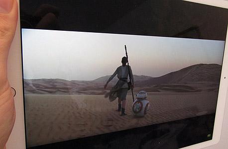 אייפד ipad פרו אפל סקירה 1 , צילום: עומר כביר