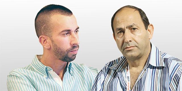 מימין: רמי לוי ואלקנה אלון, צילום: עמית שעל, מתוך עמוד הפייסבוק של אלקנה אלון