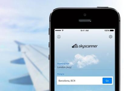 סקייסקנר אפליקציה Skyscanner