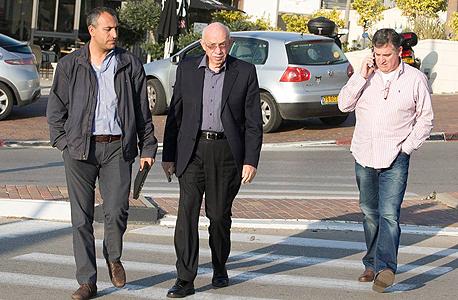 מנהלי רשת מגה מימין רביב ברוקמאייר אביגדור קפלן זאב כהן, צילום: אוראל כהן