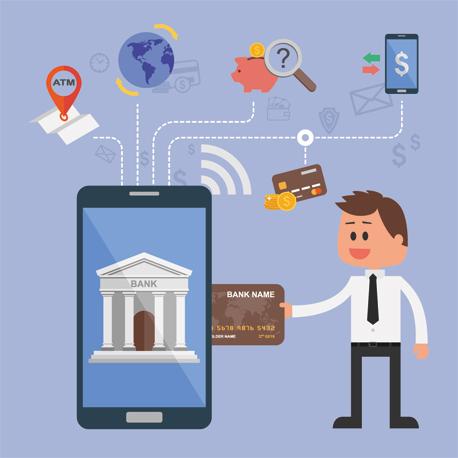 בנק אפליקציה, צילום: שאטרסוק