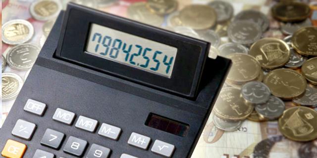 מחשבון כסף מספרים , צילום: סי די בנק ובלומברג