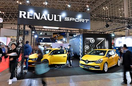 מכוניות רנו בתערוכת רכב ב טוקיו