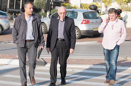 מימין: רביב ברוקמאייר, אביגדור קפלן, זאב כהן