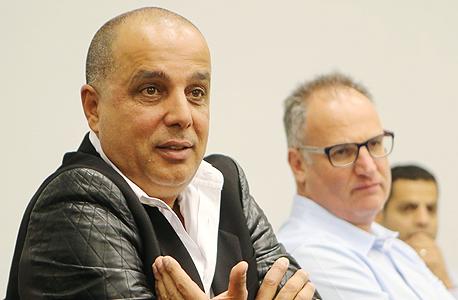 עמוס לוזון בפגישה עם מחזיקי אגח דורי קבוצה 4, צילום: נמרוד גליקמן