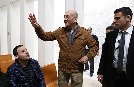 אהוד אולמרט ערעור בפסק הדין טלנסקי, צילום: עמית שאבי