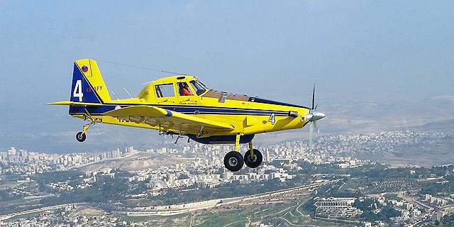 בשיא הקיץ: טייסת הכיבוי אלעד קורקעה חלקית בגלל זיהום בדלק