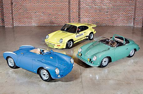 מכוניות פורשה של סיינפלד שיוצעו למכירה פומבית