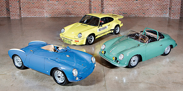 מכוניות פורשה של סיינפלד שיוצעו למכירה פומבית, צילום: Brian Henniker/Gooding & Company