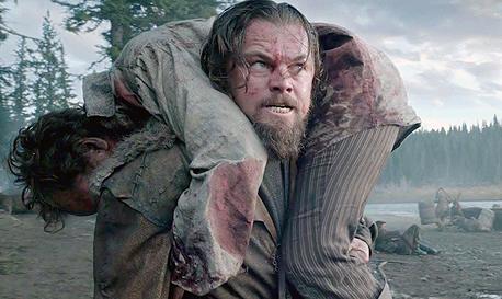 """דיקפריו בסרט """"האיש שנולד מחדש"""". אם יזכה באוסקר זה יהיה על תקן של מפעל חיים"""