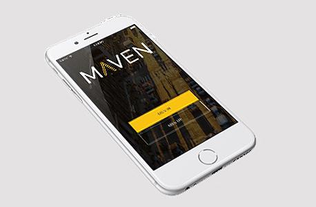 אפליקציה רכב GM מייבן maven, צילום: mavendrive