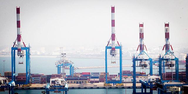 """נמל חיפה. תמריצי """"תפוקות"""" והסכמי פרישה נדיבים, צילום: גיל נחושתן"""