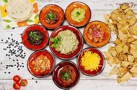ארוחת טעימות במסעדת מקסיקנה