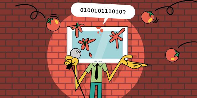 אלגוריתם אחד נכנס לבר: כך מנסים לגרום למחשבים להצחיק