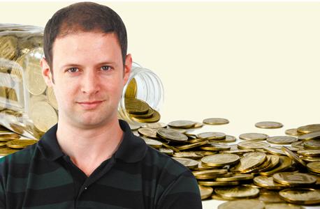 אסף גלעד מטבעות פנסיה, צילום: אוראל כהן