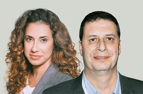 """מנכ""""ל yes רון אילון ומנכ""""לית HOT טל גרנות־גולדשטיין, צילום: רמי זרנגר"""