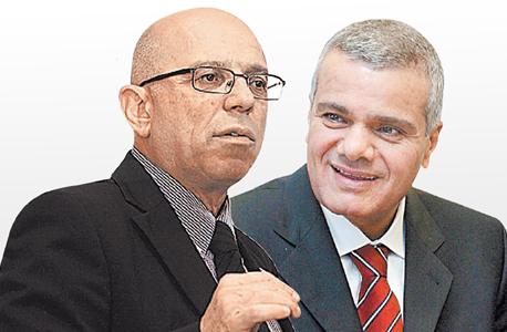 מימין: משה טרי ומוטי פרידמן, מבעלי תחנת הכוח של IPM. הסכם בהיקף של 2–2.5 מיליארד דולר