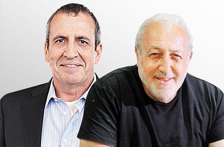 """מימין מנכ""""ל אטיוניטי שמעון אלון ומנכ""""ל מלאנוקס איל וולדמן, צילום: אוראל כהן"""