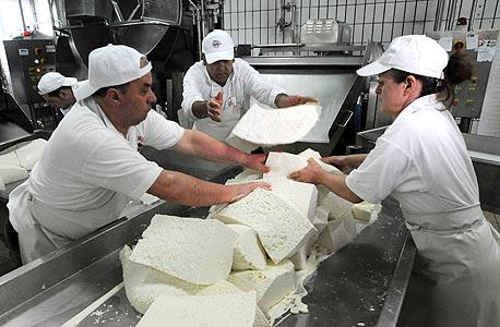 עובדים בתעשיית המזון, צילום: בלומברג