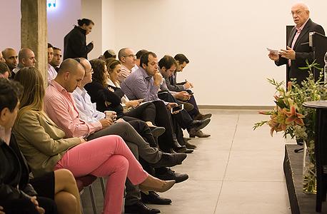"""אביגדור קפלן ישיבת אג""""ח ריבוע כחול מגה, צילום: אוראל כהן"""
