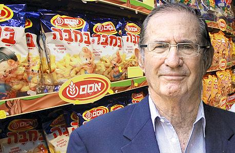 דן פרופר יושב ראש חברת אסם, צילום: שאול גולן, אילן ספירא