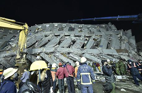 רעידת אדמה ב טייוואן 2, צילום: איי אף פי