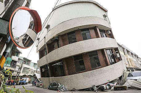 רעידת אדמה ב טייוואן 3, צילום: רויטרס