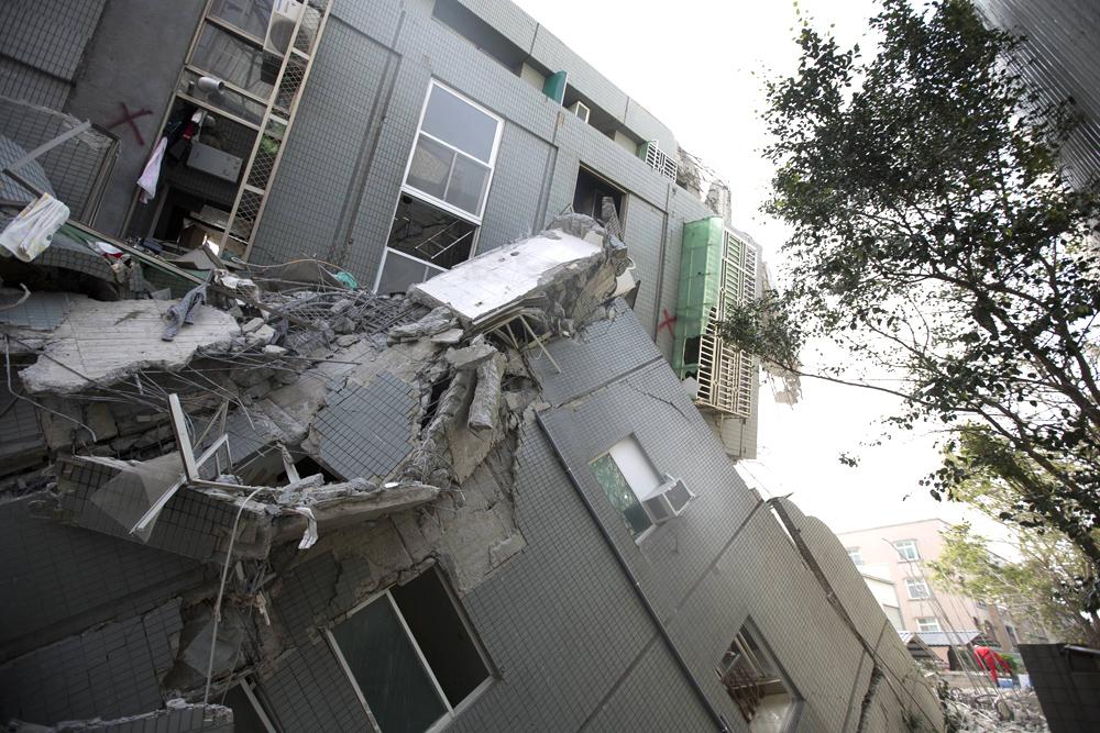 רעידת אדמה ב טייוואן 4, צילום: גטי אימג'ס