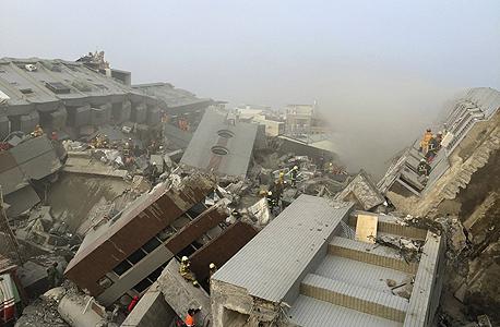 רעידת אדמה ב טייוואן 5, צילום: רויטרס