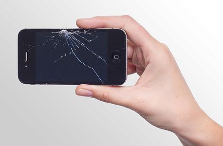 מסך שבור - תקלה נפוצה במיוחד, צילום: pixabay