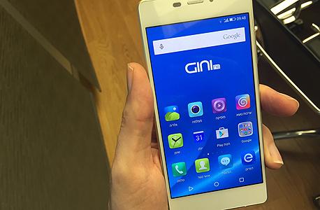 gini ג'יני פלאפון סמארטפון 1, צילום: עומר כביר