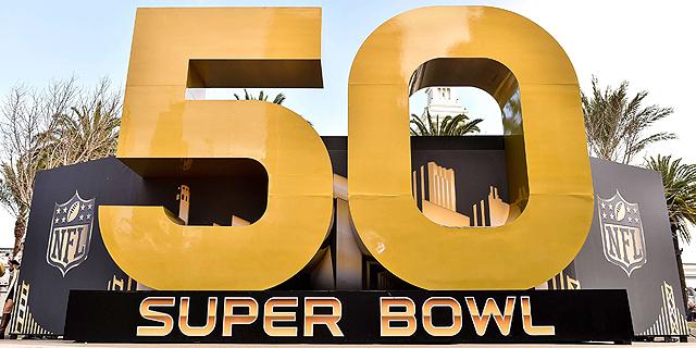 """סופרבול 50 - האירוע השלישי הכי נצפה בהיסטוריה של ארה""""ב"""