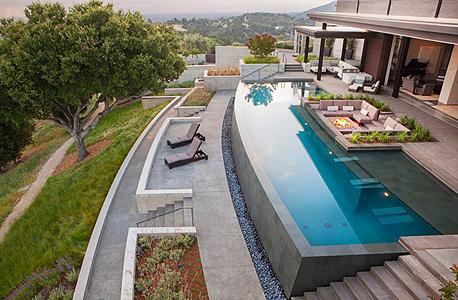 בית להשכרה AIRBNB לוס אנג'לס הילס ביונסה 1, צילום: AIRBNB