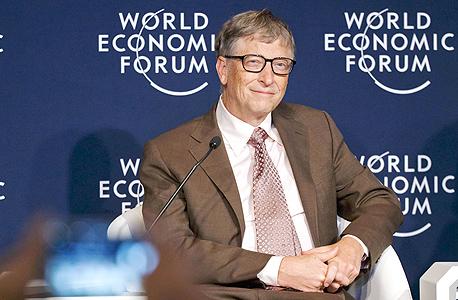 """ביל גייטס. """"מעניין אותי לעשות טוב לעולם כמו שהוא עושה, אבל זה לא תחום העניין שלי בחיים. העניין שלי בחיים הוא טכנולוגיה, מה לעשות"""""""