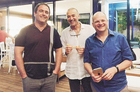 ה מייסדים של צק פוינט גיל שוויד מוריס נכט שלמה קרמר מוסף 11.2.16 , צילום: דורית חכים קרמר