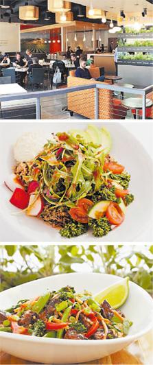 רשת לייף קיטשן, מטבח שף. סניף ומנות של לייף קיטשן. מתכננת 50 סניפים חדשים רק בשנה הקרובה, צילומים: בלומברג, אי.פי, ( LYFE Kitchen (facebook