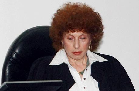 השופטת גיליה רביד , צילום: יריב כץ