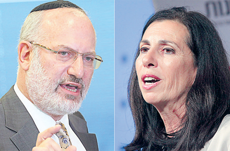 מימין דורית סלינגר ו אדוארדו אלשטיין, צילומים: אוראל כהן, עמית שעל