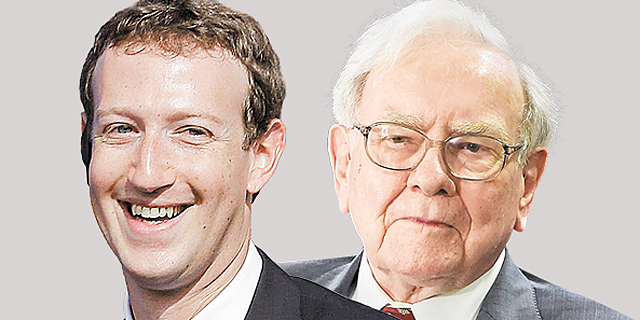 כבר בגיל 34: מארק צוקרברג עקף את וורן באפט כאדם השלישי בעושרו בעולם