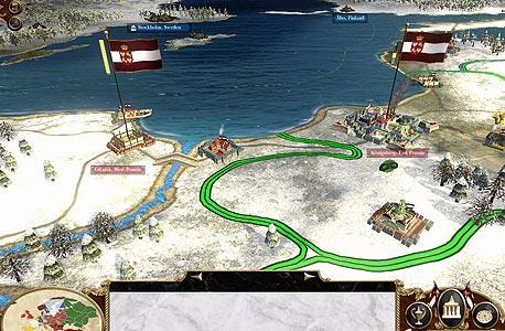 מחוזות הם לא רק ערים, אלא גם משאבים שיש לנהל. מפת הקמפיין החדשה, צילום מסך: empire total war